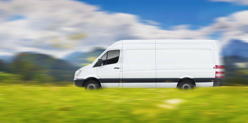 Lieferwagen, europaweiter Transport